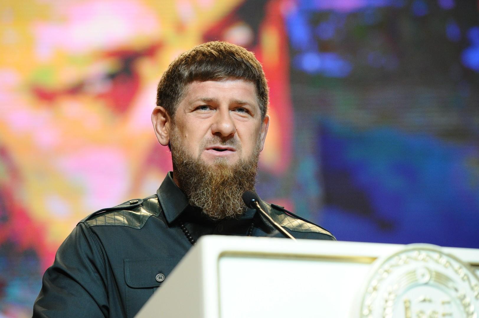 رئيس جمهورية الشيشان الروسية رمضان قادروف