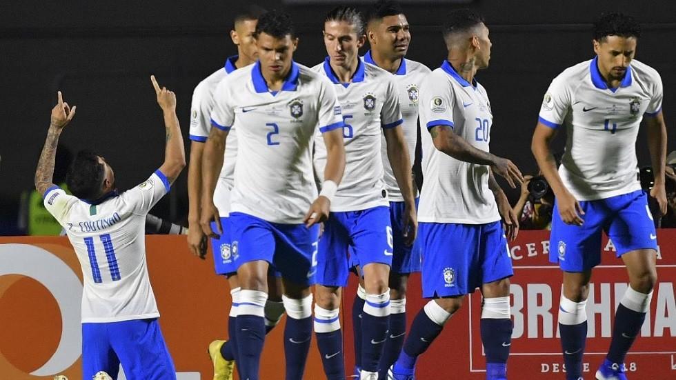 لماذا خاض منتخب البرازيل مباراة افتتاح