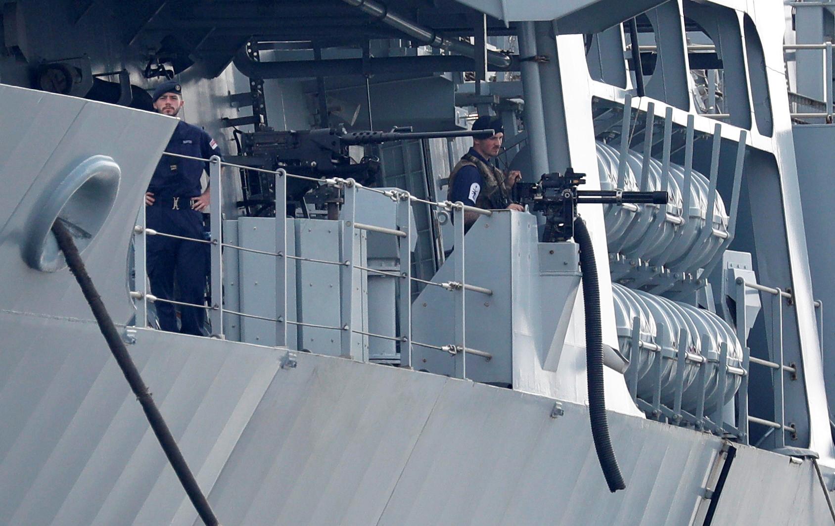 عناصر من قوات البحرية البريطانية - أرشيف