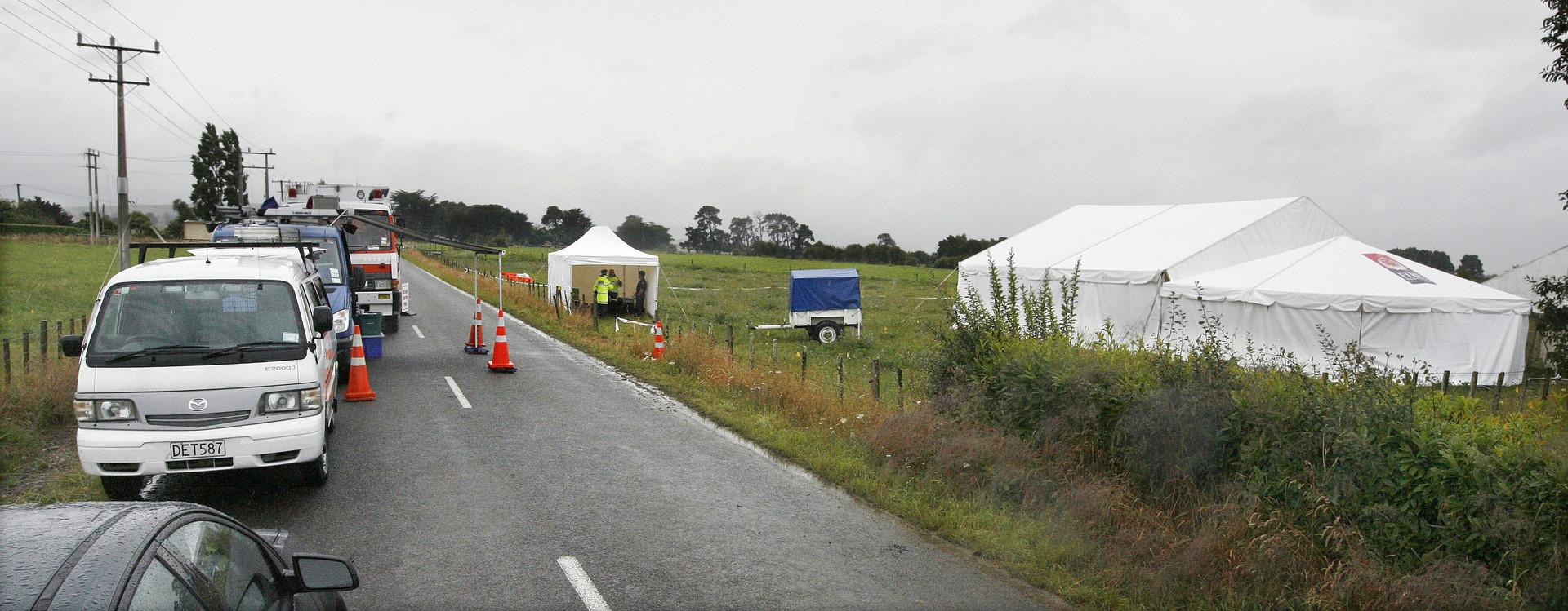 مقتل شخصين باصطدام طائرتين في الجو بنيوزيلندا
