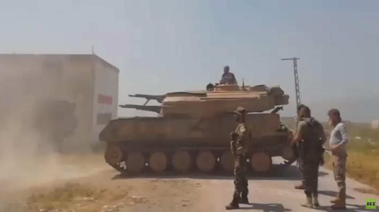 تركيا ترسل تعزيزات عسكرية إلى جنوب إدلب