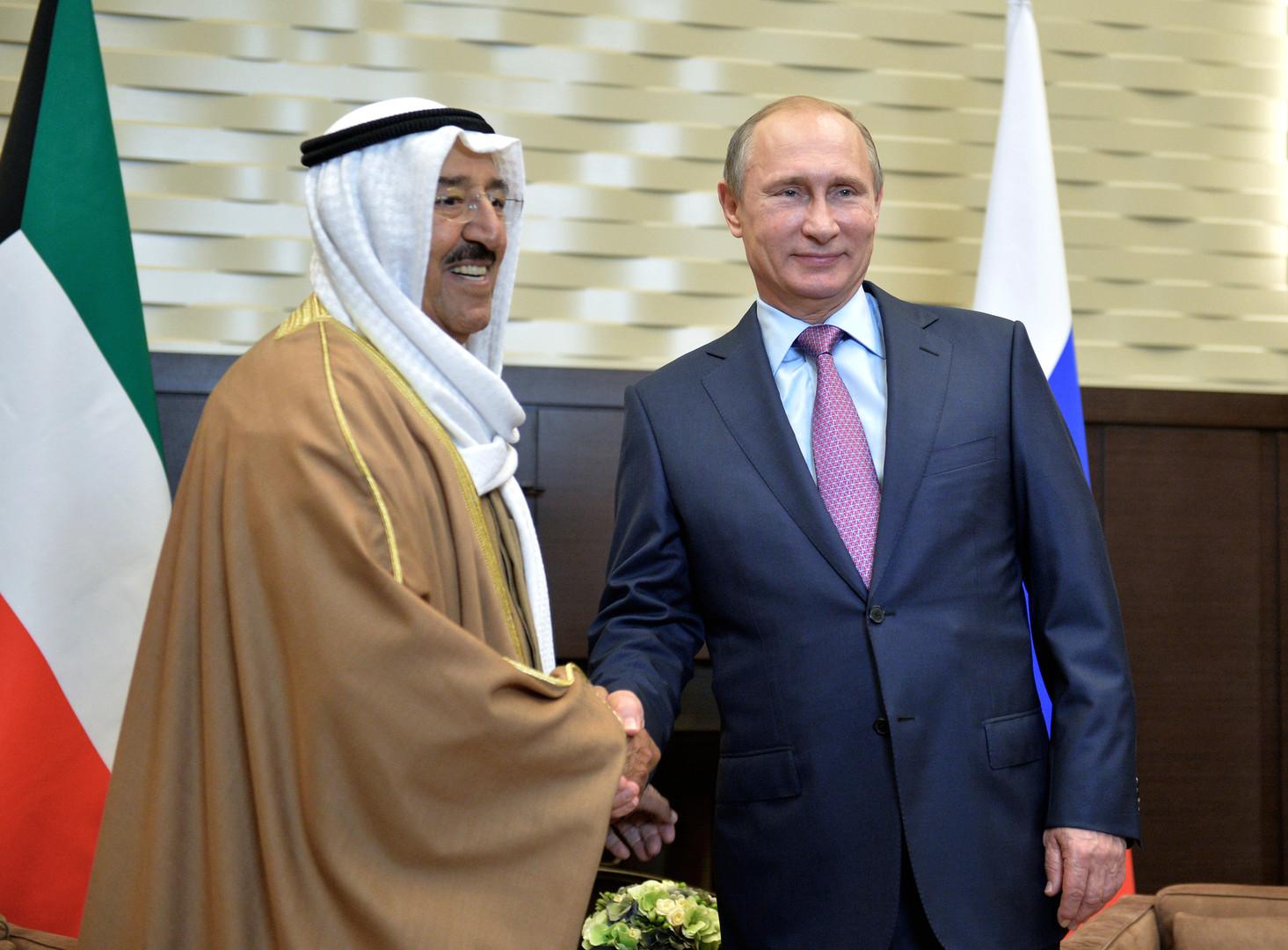 بوتين يهنئ أمير الكويت بعيد ميلاده ويدعوه لحماية المواطنة الروسية المدانة في الكويت