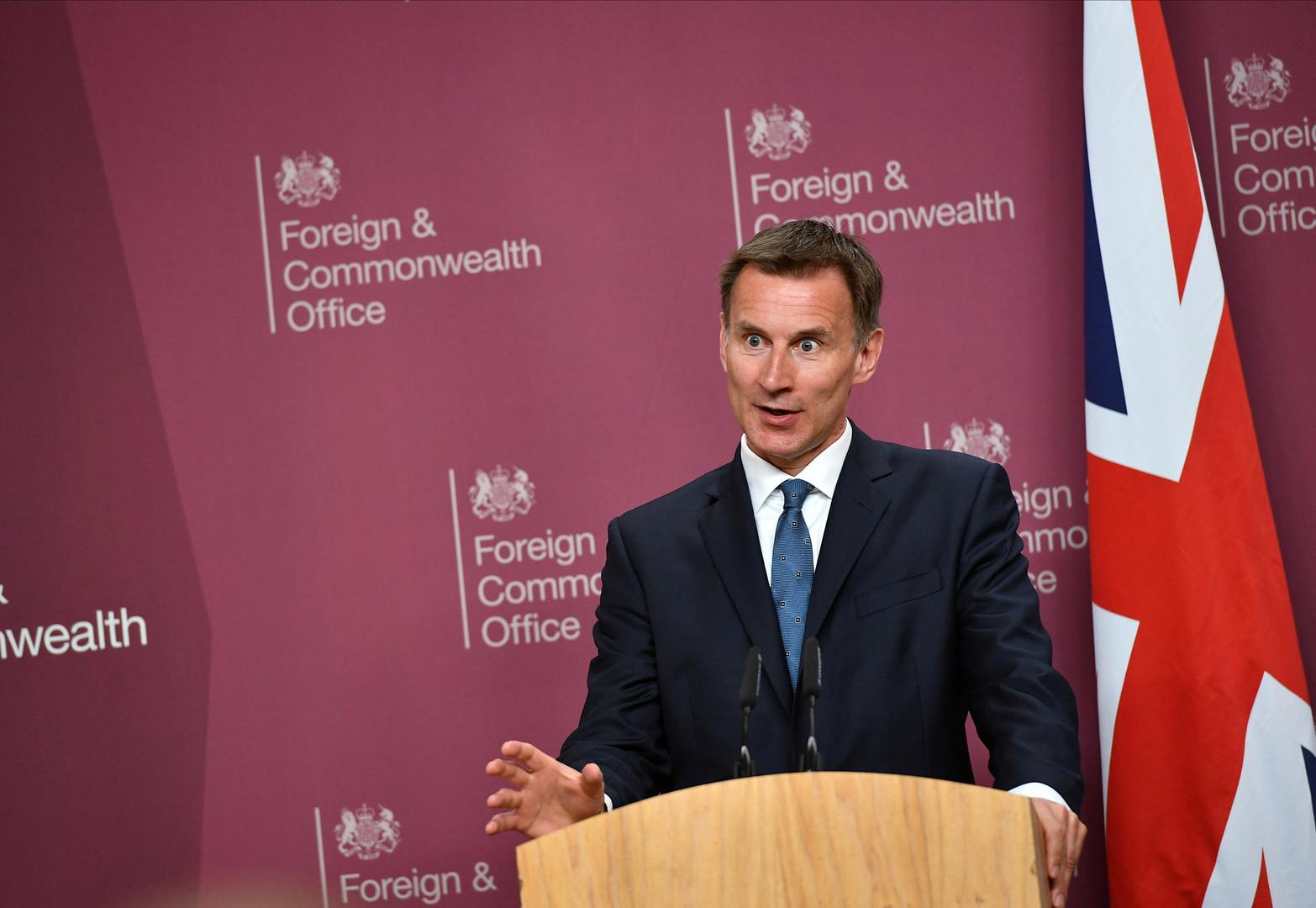 وزير خارجية بريطانيا: وقوف إيران وراء حادث الناقلتين مؤكد تقريبا