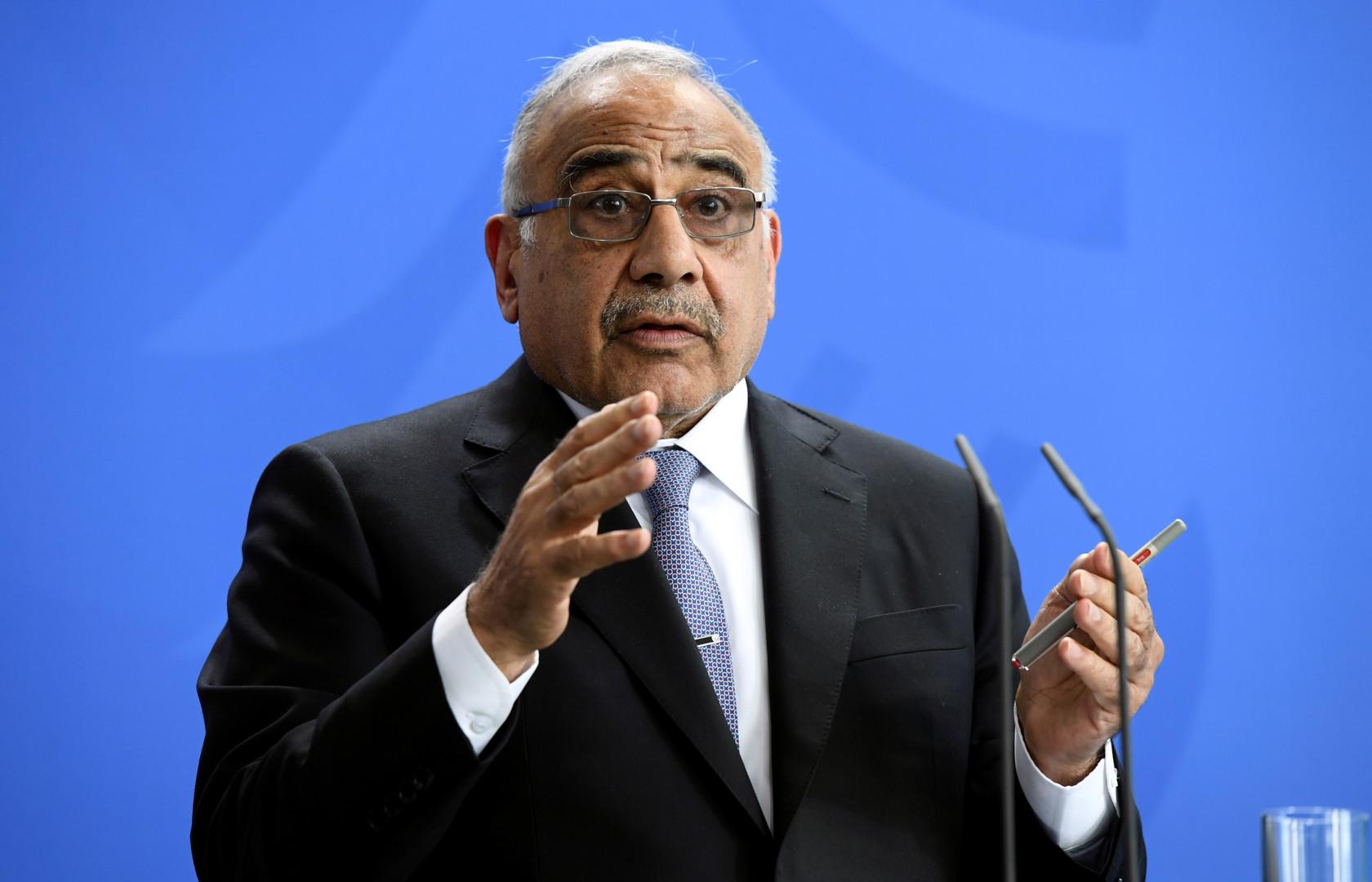 باحث عراقي لـRT: عبد المهدي فشل داخليا وخارجيا وبقاؤه في منصبه مهدد -