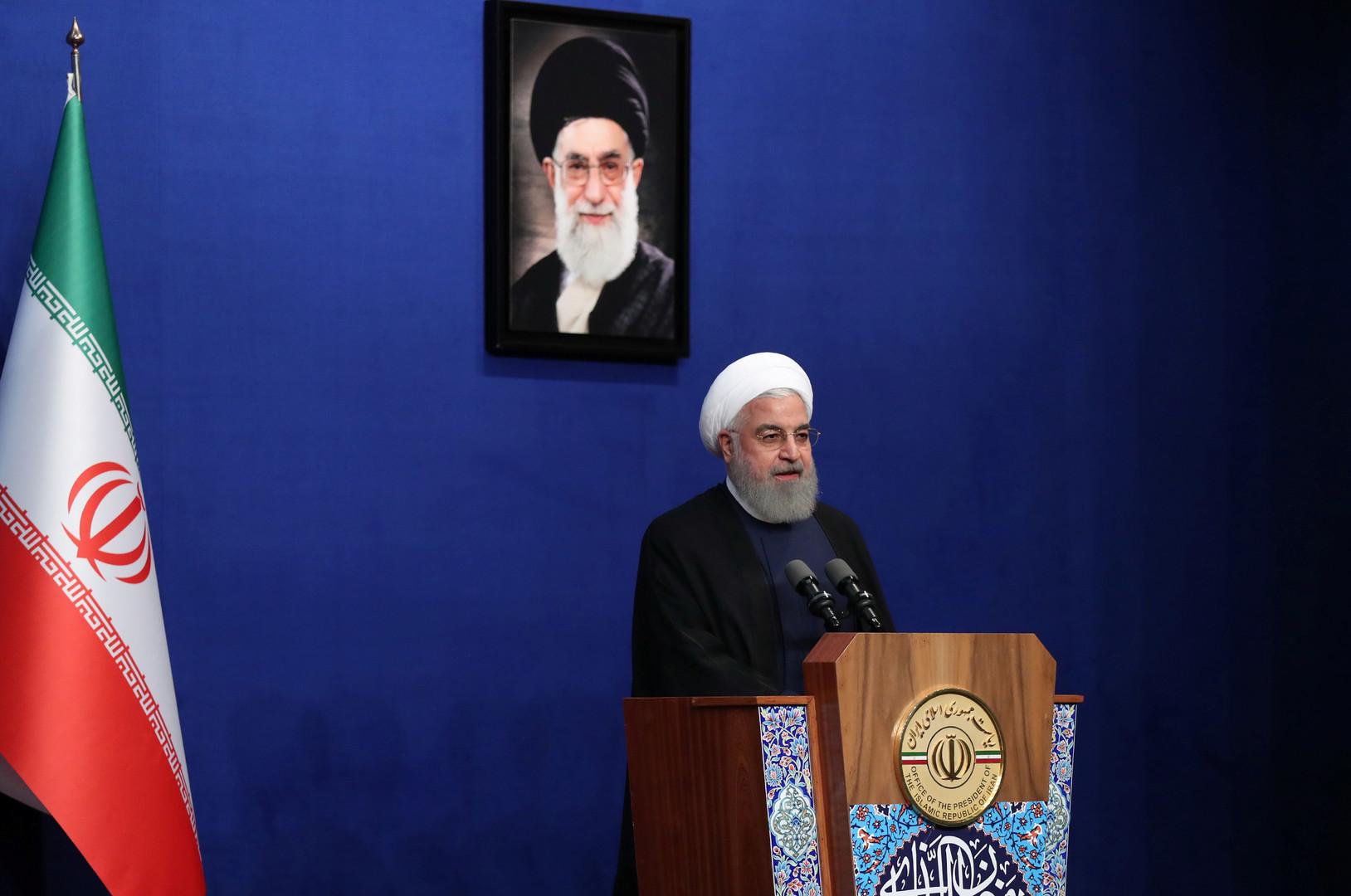 روحاني يحذر من أن انهيار الاتفاق النووي ليس في مصلحة إيران والعالم بأكمله