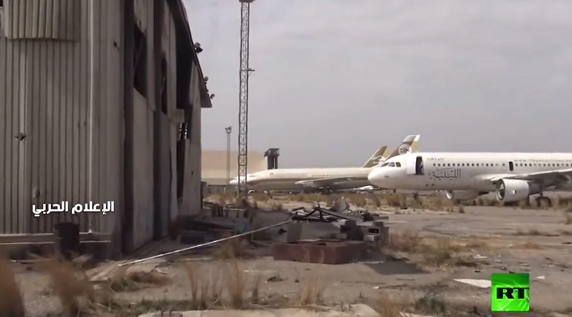 جولة في مطار طرابلس الدولي