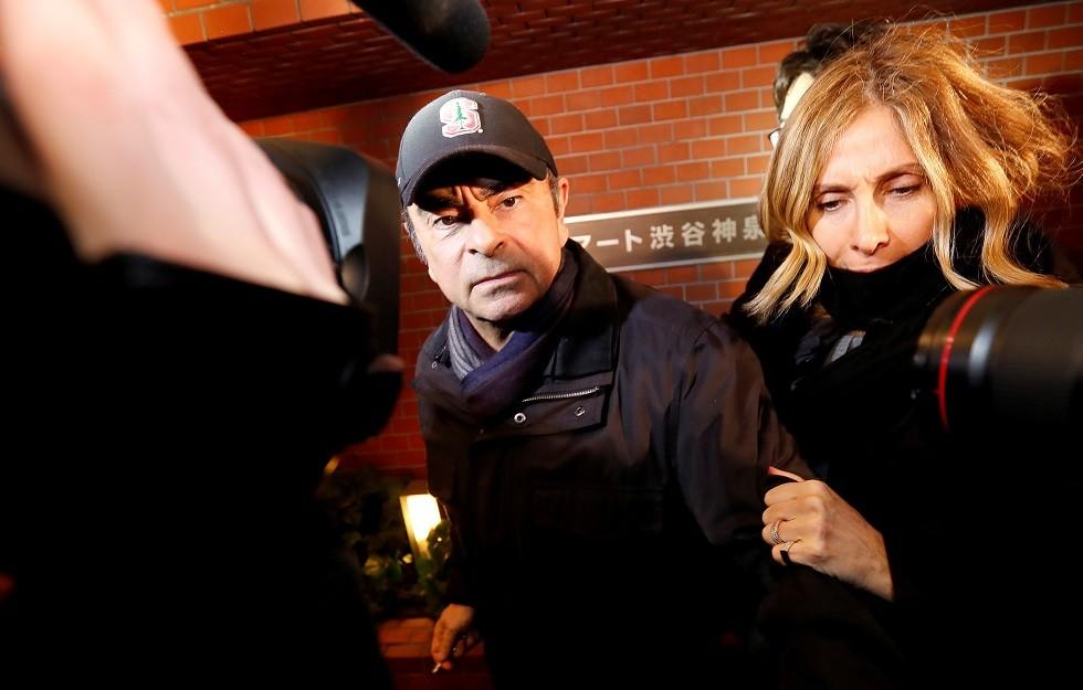 زوجة كارلوس غصن تدعو ترامب للتدخل من أجل إطلاق سراح زوجها