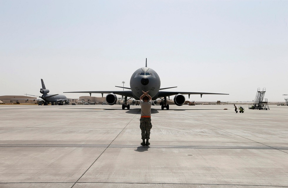 الولايات المتحدة تعلن إرسال ألف عسكري أمريكي إضافي إلى الشرق الأوسط بسبب