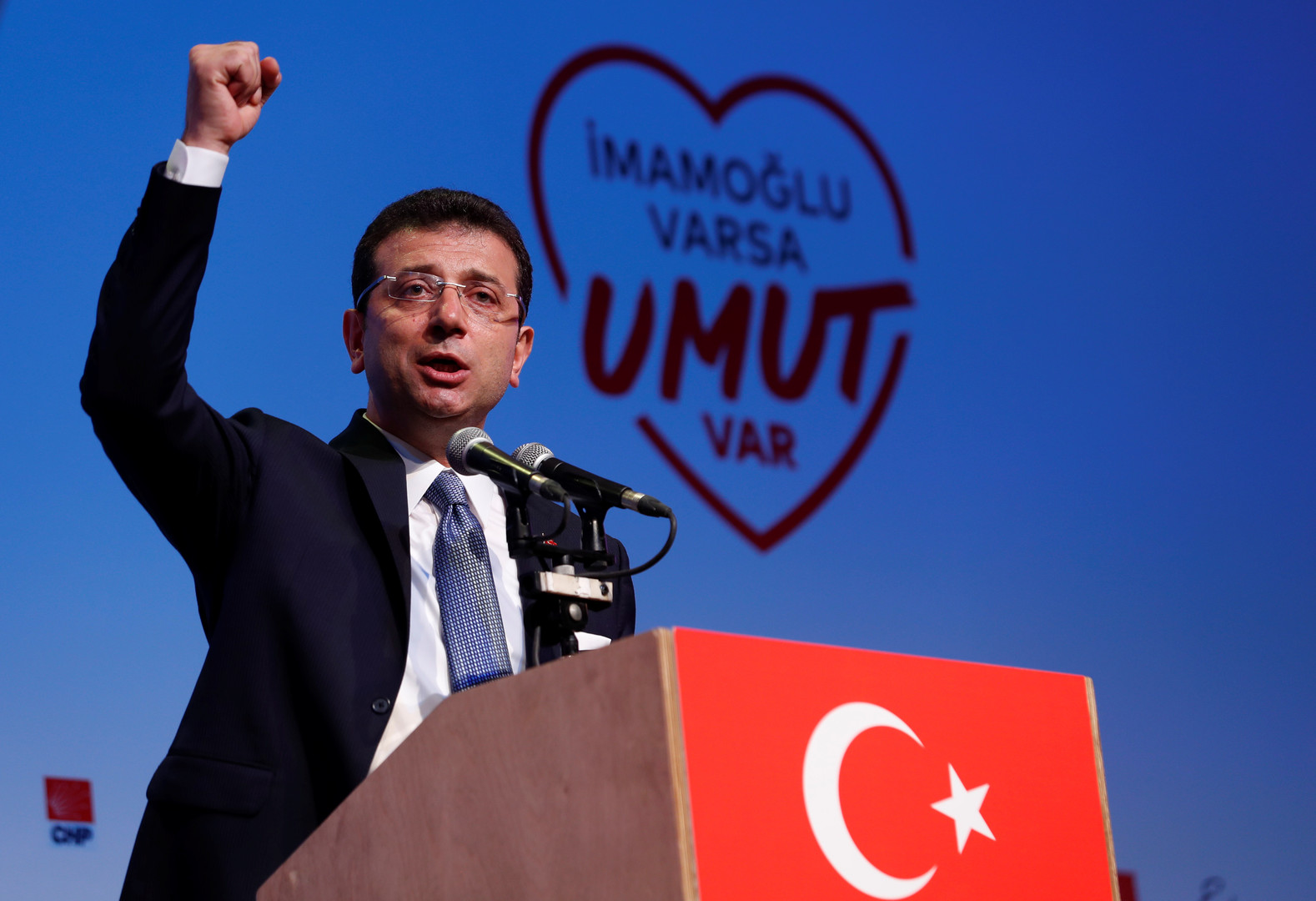 مرشح المعارضة لرئاسة بلدية اسطنبول أكرم إمام أوغلو