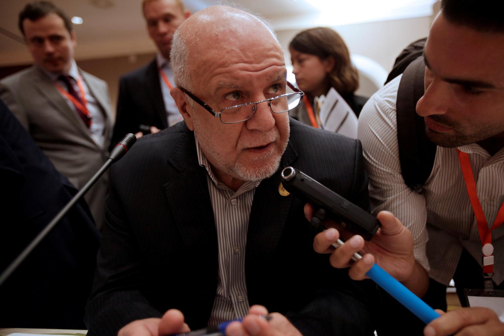 وزير النفط الإيراني يتهم دول الجوار بخلق خلل في أسواق النفط