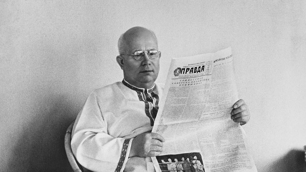 الزعيم السوفيتي، نيكيتا خروشوف 1894-1971