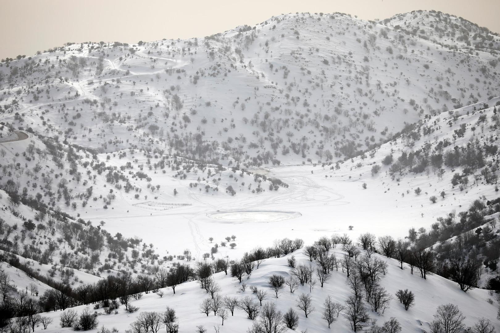 مرتفعات جبل الشيخ- أرشيف