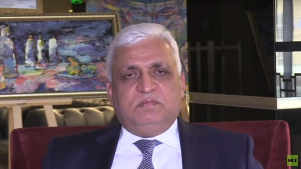 مستشار الأمن الوطني العراقي، رئيس هيئة الحشد الشعبي، فالح الفياض