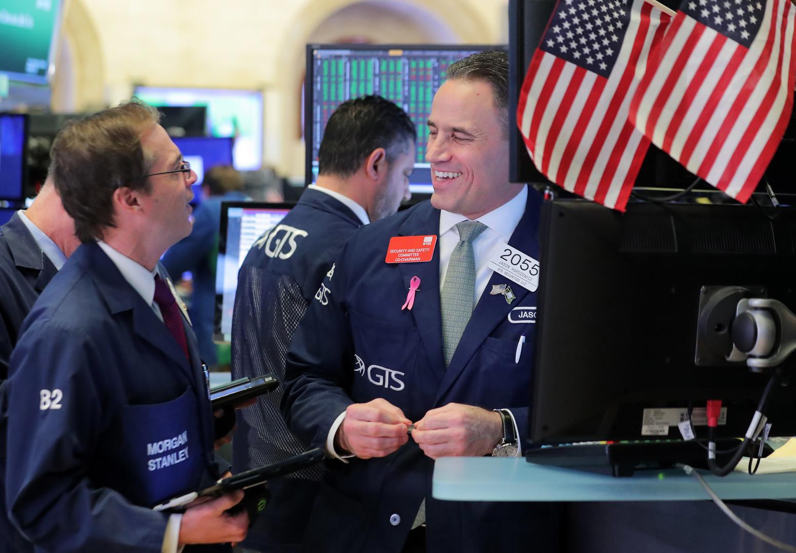 ارتفاع البورصة الأمريكية بعد تصريحات ترامب بشأن الصين