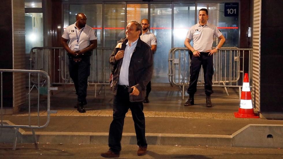 إطلاق سراح بلاتيني عقب استجوابه ضمن تحقيقات منح قطر حق استضافة كأس العالم