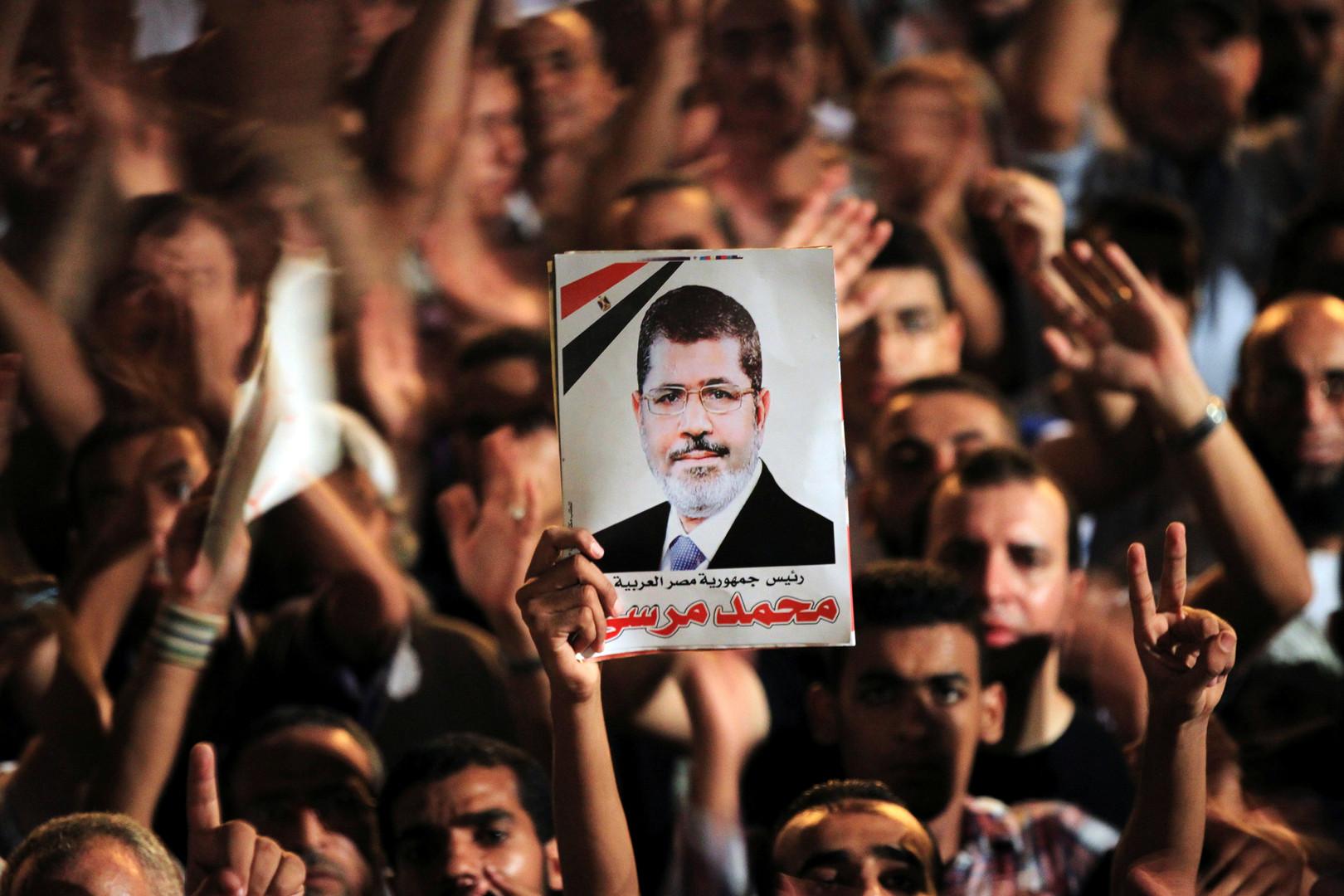 الرئيس المصري الأسبق المتوفى محمد مرسي