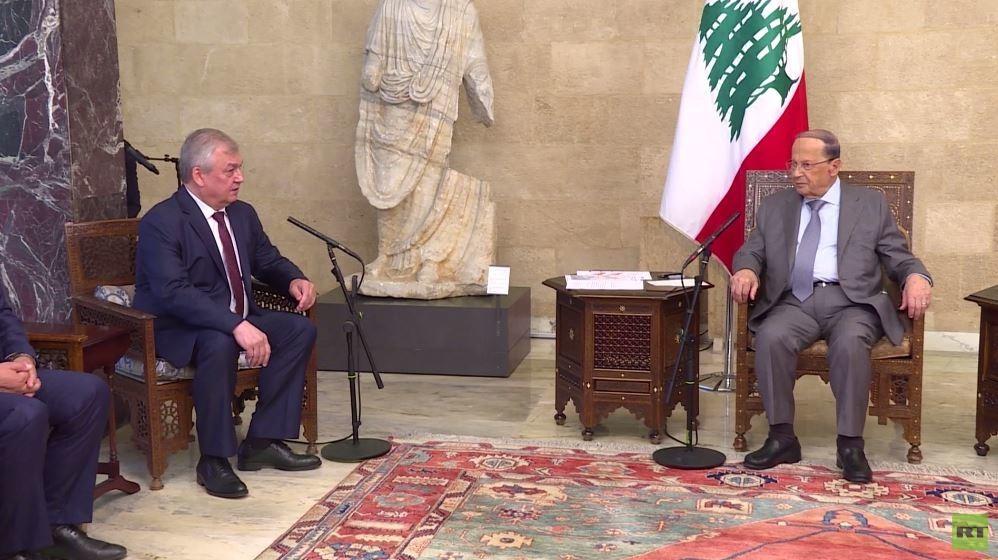 محادثات لافرنتيف في لبنان