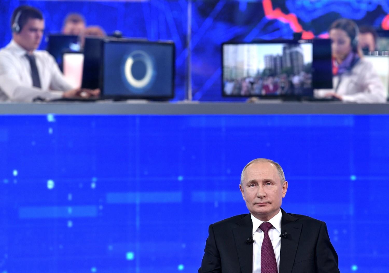 بوتين يرد على سؤال