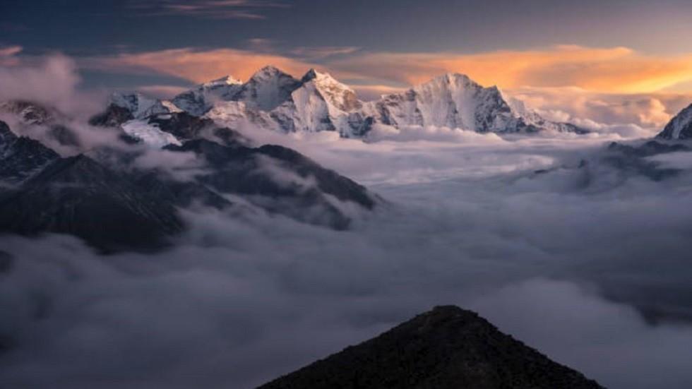 جزء من سلسلة جبال الهيمالايا