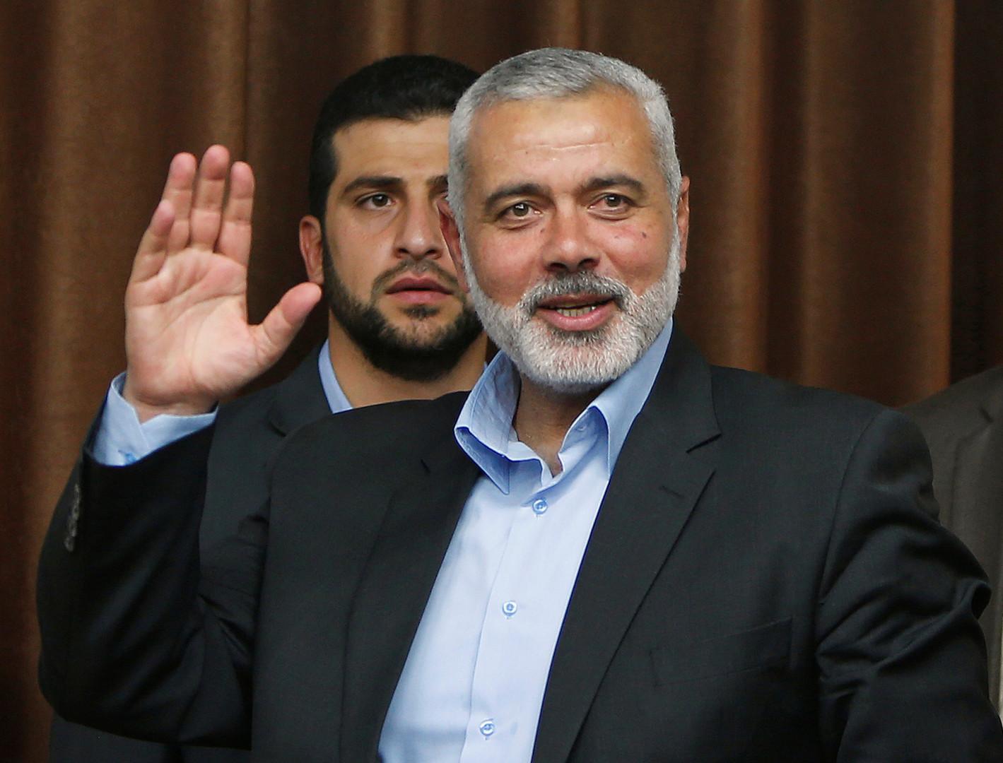 رئيس المكتب السياسي لحركة حماس إسماعيل هنية - أرشيف