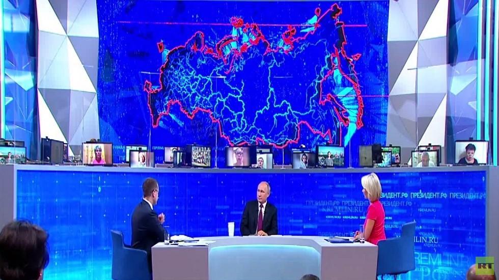 بوتين يحذر واشنطن من عواقب ضرب إيران