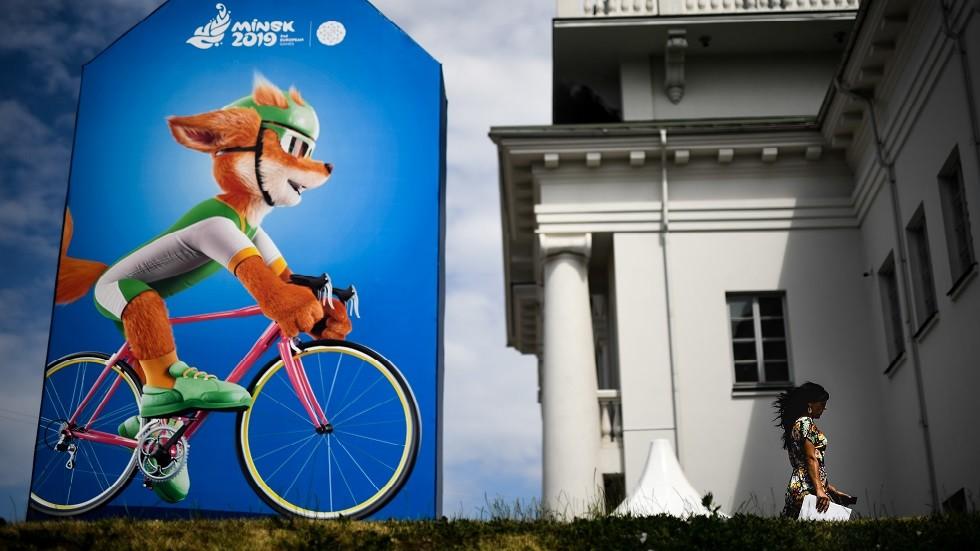 انطلاق دورة الألعاب الأوروبية الثانية في مينسك