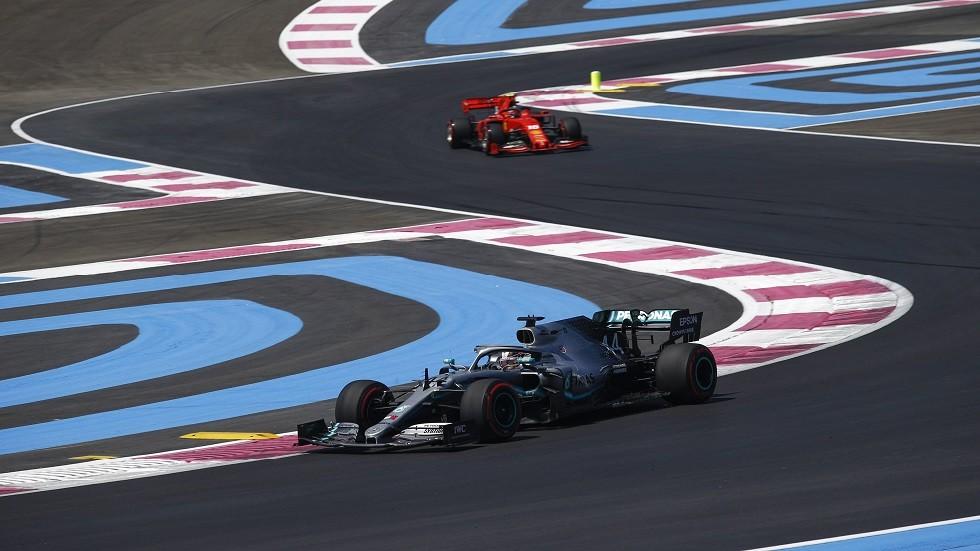هاميلتون الأسرع في التجارب الأولى لسباق فرنسا