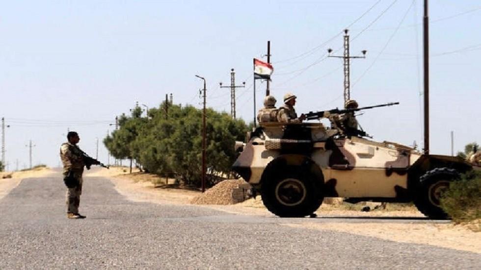أفراد الجيش المصري في سيناء - أرشيف