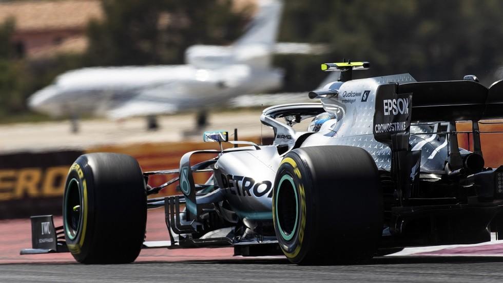 بوتاس يتصدر التجارب الحرة الأخيرة في سباق جائزة فرنسا للفورمولا1
