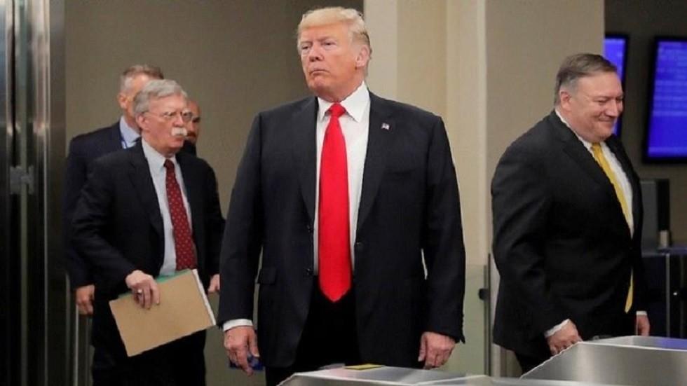 صحيفة: مستشارو ترامب حثوه على ضرب إيران لكنه خالفهم متهما إياهم بجرّه إلى الحرب
