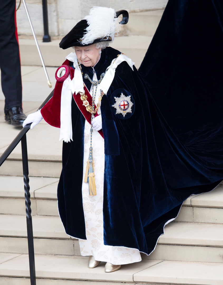 ملكة بريطانيا، إليزابيث الثانية (صورة أرشيفية)