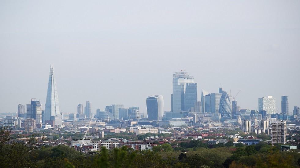 منظر عام من لندن - أ{شيف