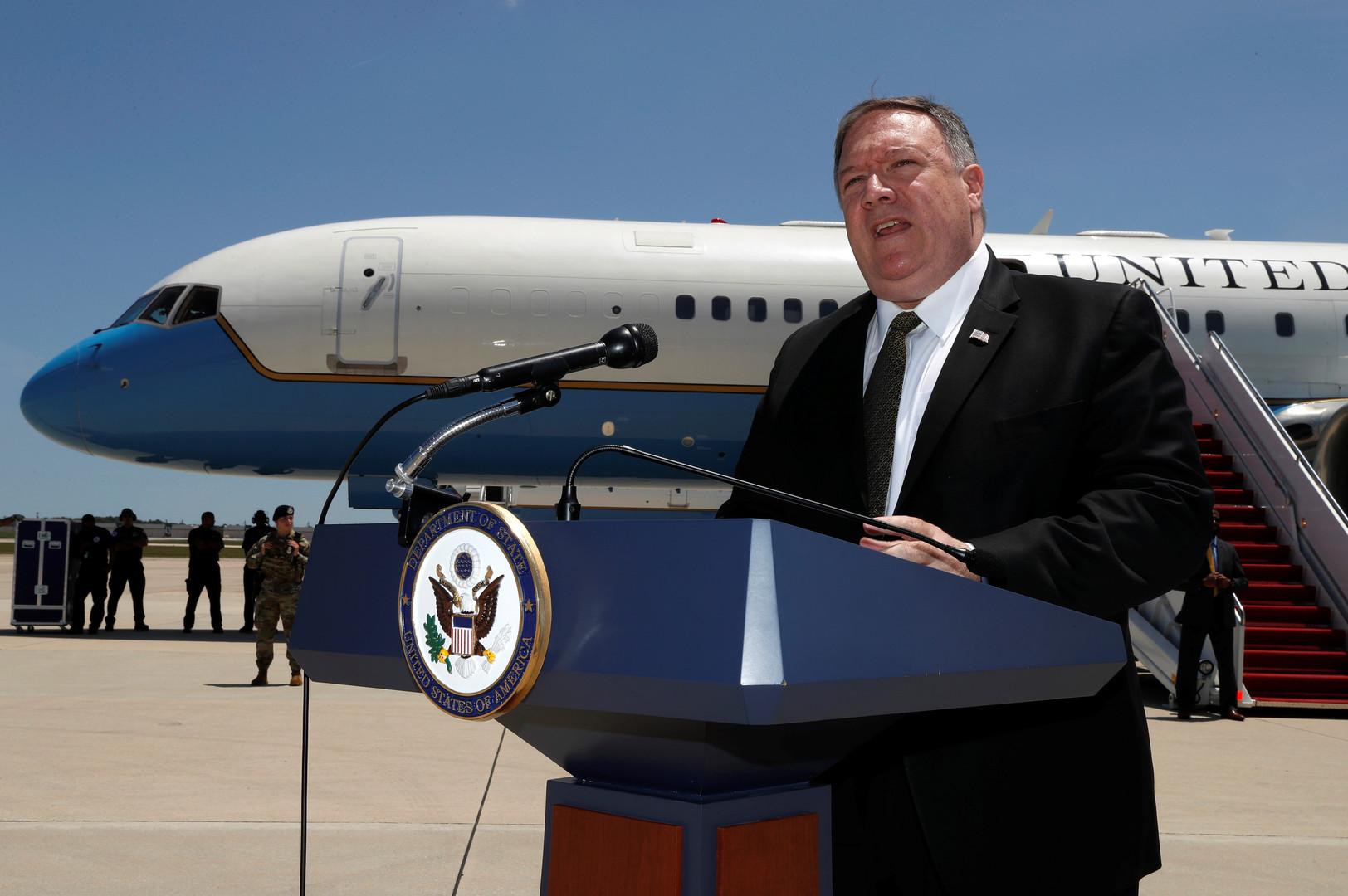 وزير الخارجية الأمريكي يتوجه إلى السعودية والإمارات