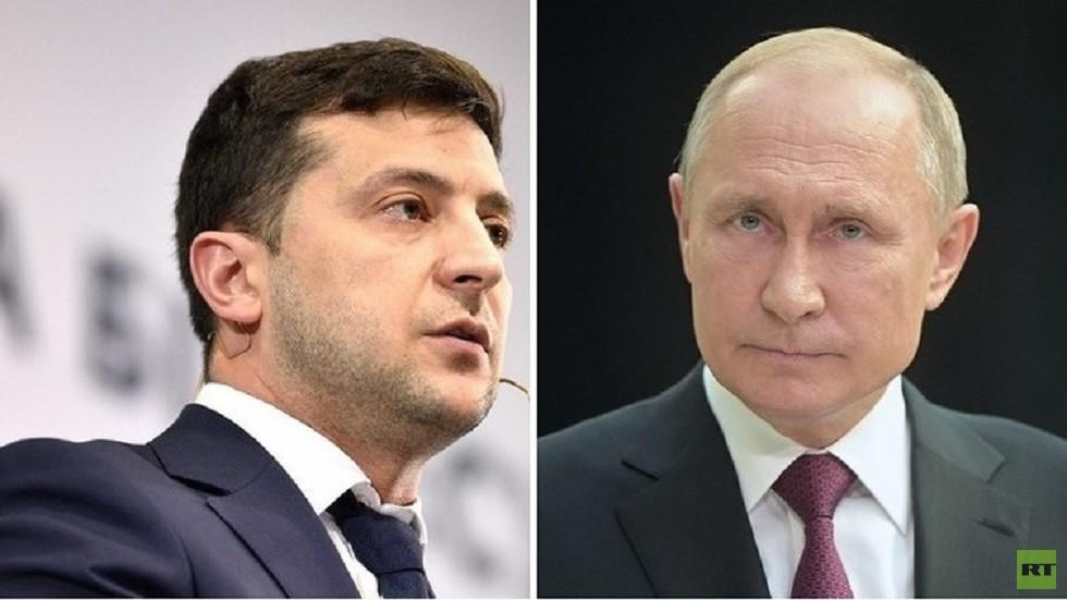 بوتين لا ينوي لقاء زيلينسكي في قمة