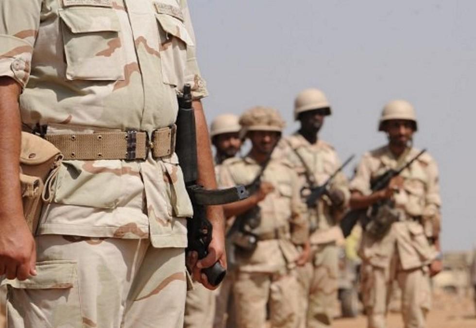 عناصر من قوات حرس الحدود السعودية