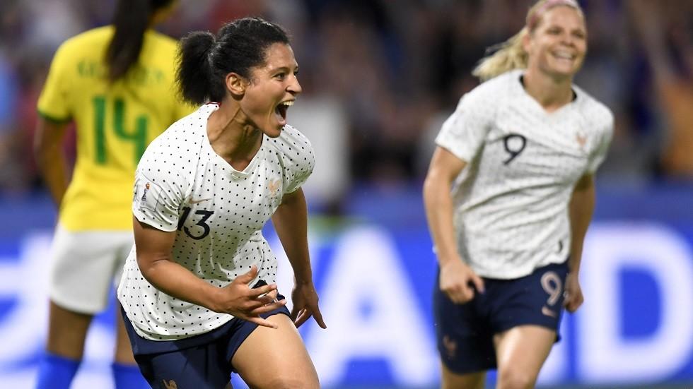 فرنسا إلى ربع نهائي كأس العالم بعد تخطي البرازيل