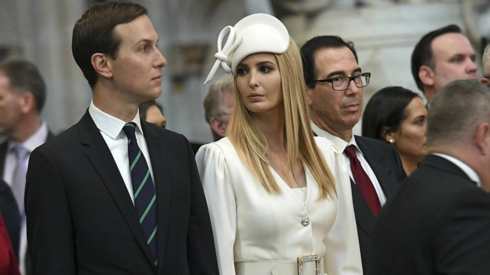 إيفانكا ترامب وزوجها جاريد كوشنير
