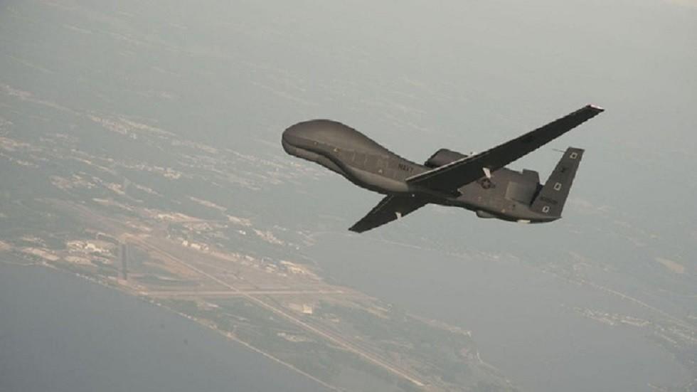 طائرة أمريكية مسيرة من طراز RQ4 - أرشيف