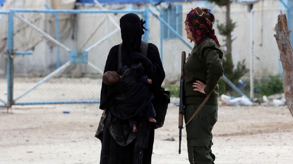 عوائل داعش- أرشيف