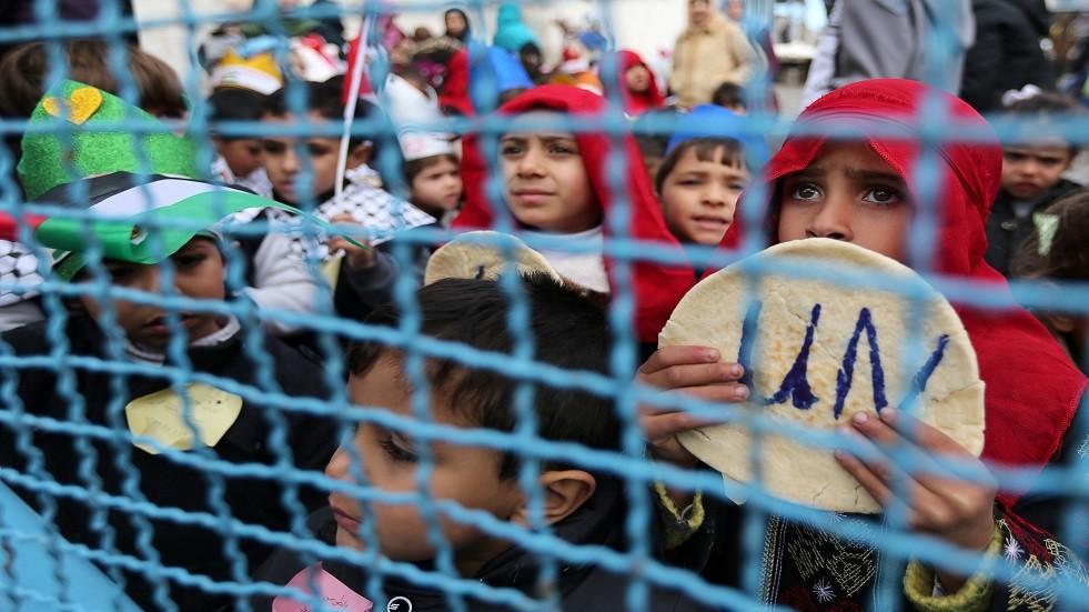 أطفال فلسطينيون - أرشيف