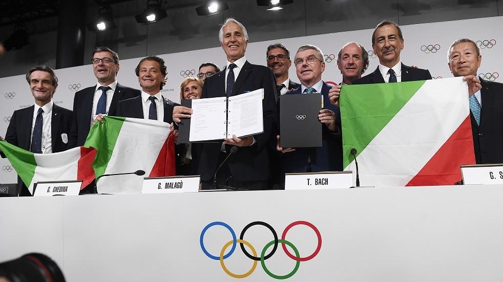 رسميا.. الألعاب الأولمبية تعود إلى إيطاليا بعد 20 عاما
