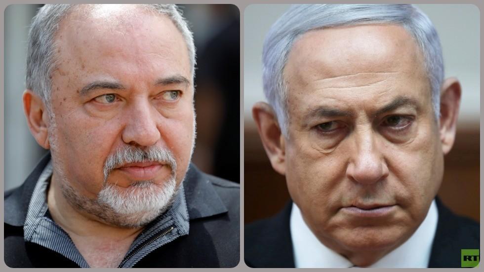 رئيس الوزراء الإسرائيلي بنيامين نتنياهو وزعيم حزب
