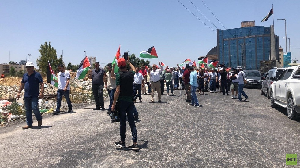 Clashes in the West Bank and a strike in Gaza to protest against