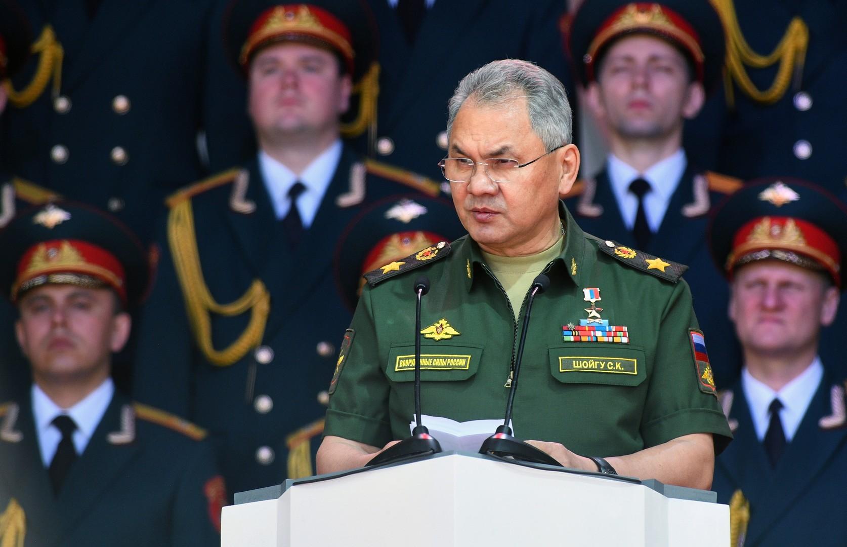 شويغو: صناعات الدفاع الروسية سجلت وتيرة نمو إيجابية رغم العقوبات