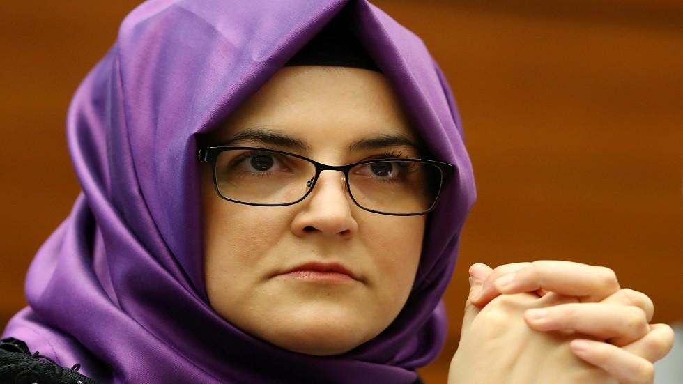 خديجة جنكيز خطيبة الصحفي السعودي جمال خاشقجي