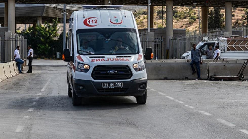 مصرع  مهاجرين لا شرعيين بحادث مرور في تركيا