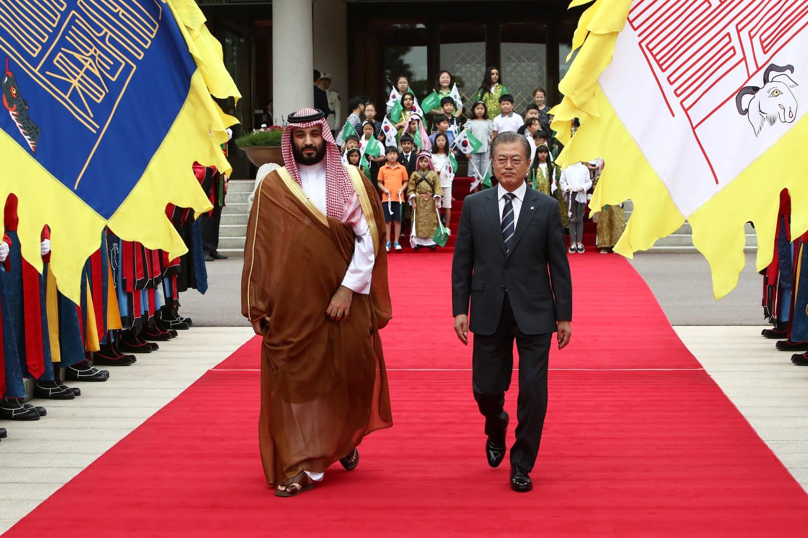 الرياض وسيئول توقعان عقودا مليارية على هامش زيارة بن سلمان