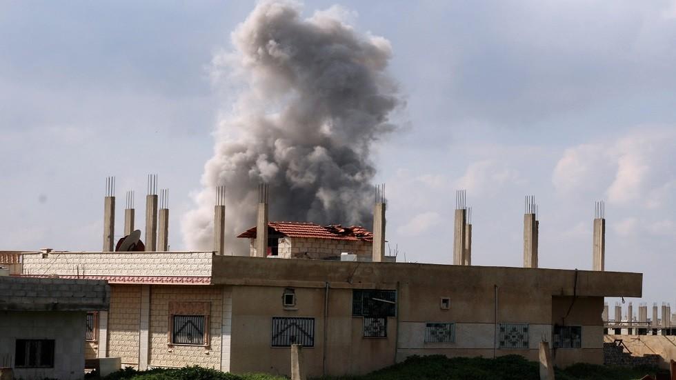 هجوم مسلح على مفرزة أمنية ومخفر للشرطة في ريف درعا الغربي بسوريا