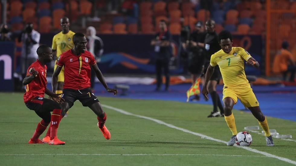 أوغندا تتقدم على مصر بفارق نقطة (فيديو)