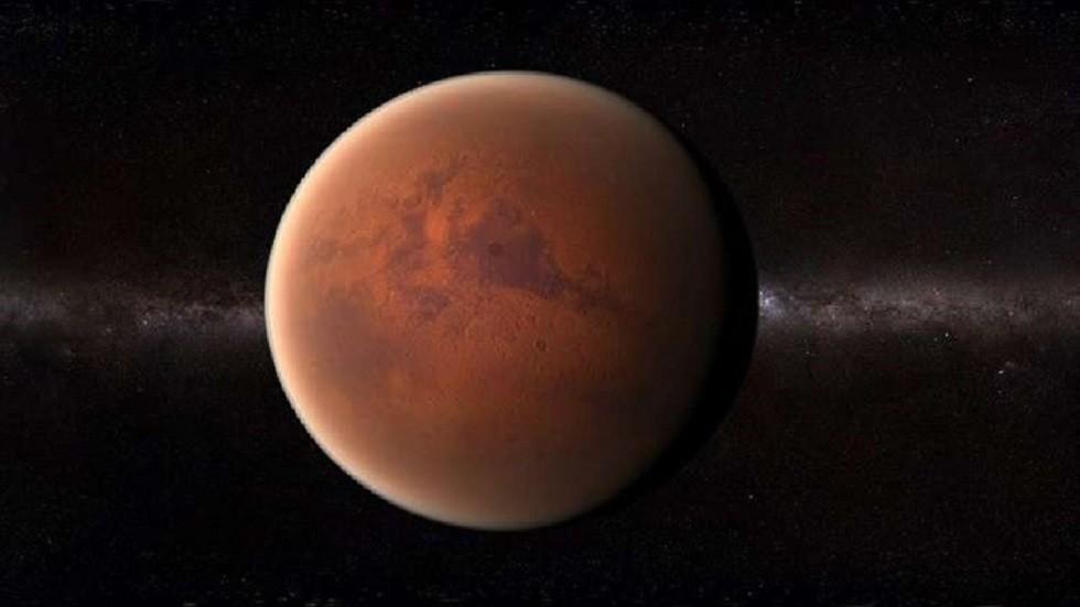 صورة تعبيرية لكوكب المريخ